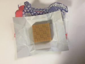 チロルチョコ 桔梗信玄餅 チョコ02